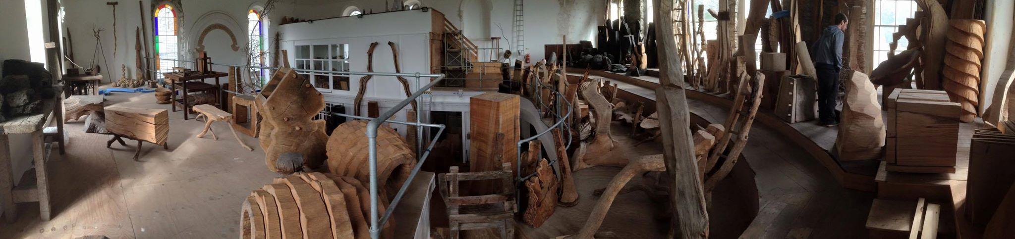David Nash's Chapel Workshop