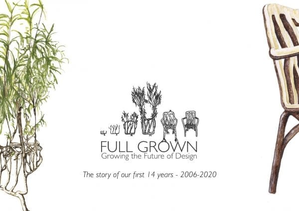 Front cover of the Full Grown Book