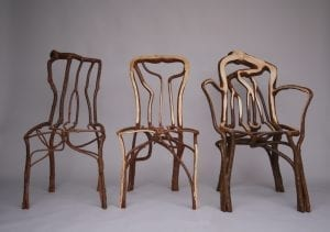 Photo Print of Three Grown Chairs