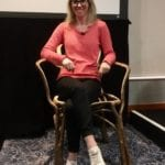 2020-01 08of13 - Fg talk at Ascential Conference - The Gatti Chair - Tessa Clarke CEO and Founder of OLIO