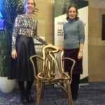 2020-01 13of13 - Fg talk at Ascential Conference - The Gatti Chair - Ceri Sansom and Lisa White Director of Lifestyle & Interiors at WGSN