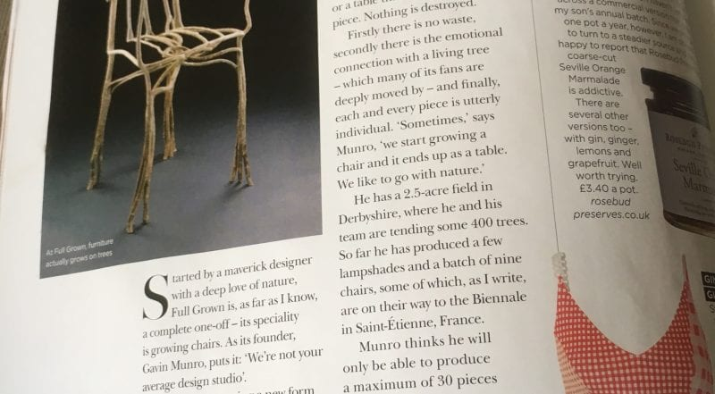 Article in Country & Town House Magazine