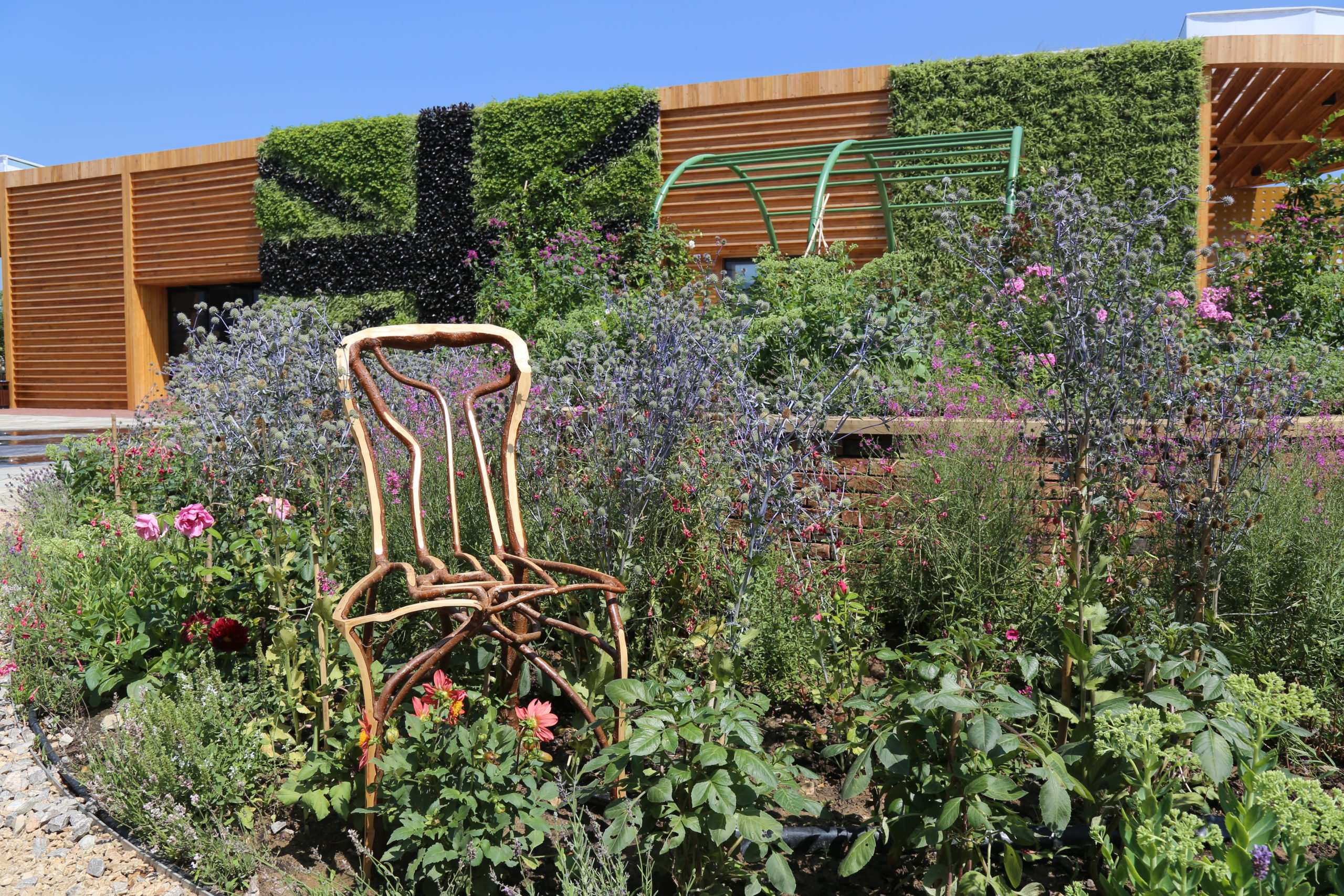 The Edwardes Chair at the Beijing Horticultural Expo UK Pavilion