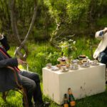 A Mad Tea Party in the Chair Orchard
